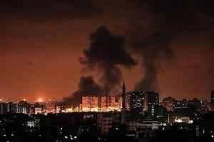 Israel ồ ạt không kích dải Gaza, 3 người Palestine thiệt mạng