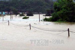 Kon Tum: 10 thôn bị cô lập do mưa lũ