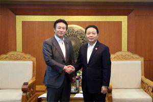 Việt Nam - Nhật Bản tăng cường hợp tác về đất đai, tài nguyên nước, khí tượng và thông tin địa lý