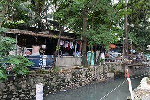 Hà Nội: Ô nhiễm và lấn chiếm bủa vây mương Đồng Bông
