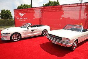 Chiếc Ford Mustang thứ 10 triệu xuất xưởng có gì đặc biệt?