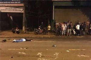 Xe máy tông liên hoàn, 2 người chết, 1 người bị thương