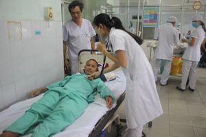Gắp lưỡi câu nằm trong phổi của bệnh nhân tâm thần ở Quảng Nam
