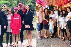 Đi du lịch nước ngoài cùng vợ con, Quyền Linh vẫn trung thành với dép tổ ong