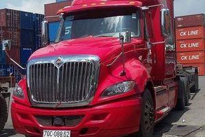 Hiệp sĩ Bình Dương tìm thấy xe container bị mất trộm hơn một tháng