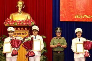 TP.Hải Phòng: Cùng lúc bổ nhiệm 3 Phó Giám đốc Công an