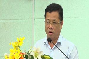 Bình Dương: Họp báo vụ bắt giam nguyên Bí thư Thị ủy Bến Cát