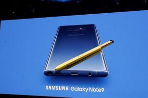 Sự kiện ra mắt Galaxy Note 9 trong 3 phút