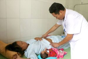 Cấp cứu kịp thời trường hợp thai nhi sa dây rốn