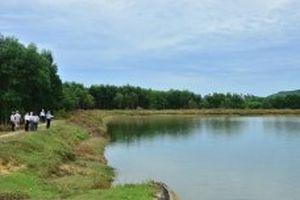 Nhiều hồ, đập xuống cấp nghiêm trọng ở Quảng Ngãi