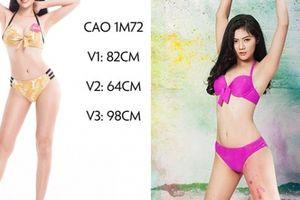 Bí quyết vòng ba 98 cm của người đẹp Hải Phòng thi Hoa hậu Việt Nam