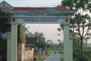 Lập dự án tôn tạo di tích lịch sử Làng K130 ở Hà Tĩnh