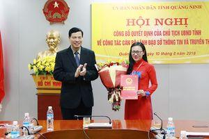 Nữ nhà báo làm Giám đốc Sở Thông tin và Truyền thông tỉnh Quảng Ninh