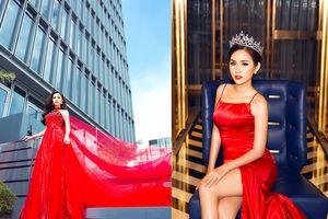 Á hậu Thanh Trang sang Trung Quốc làm giám khảo 'Hoa hậu các quốc gia'