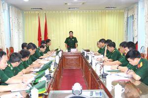 Đoàn công tác Bộ Tư lệnh Quân khu 2 kiểm tra BĐBP Hà Giang