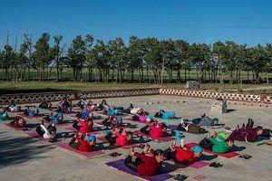 Ngôi làng 'cải lão hoàn đồng' nhờ yoga