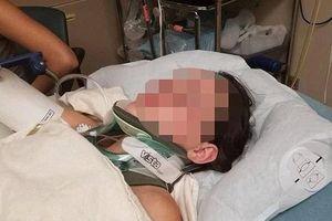 Nữ sinh gãy xương sườn, thủng phổi vì bị bạn xô ngã từ độ cao 20 m