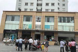 Người đàn bà tử vong sau khi rơi từ tòa nhà cao tầng ở thành phố Vinh
