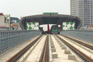 Tàu Cát Linh - Hà Đông: Tốc độ 35km/h, giá vé cao hơn buýt nhanh 35%