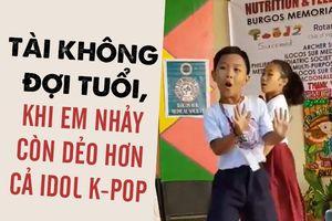 TÀI KHÔNG ĐỢI TUỔI: Cậu bé nhảy 'Bboom Bboom' dẻo hơn idol K-pop