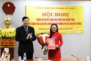 Quảng Ninh có nữ Giám đốc Sở Thông tin và Truyền thông 41 tuổi