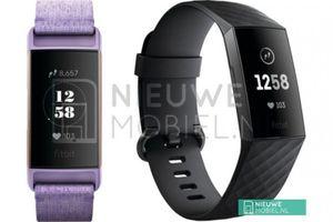 Ảnh vòng đeo tay thông minh Fitbit Charge 3 trước ngày ra mắt