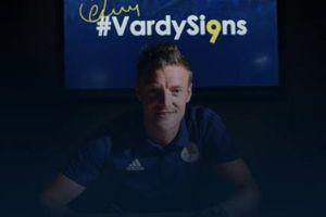 CHÍNH THỨC: Jamie Vardy gia hạn hợp đồng với Leicester City