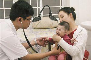 Nắng nóng đỉnh điểm- cẩn trọng với bệnh viêm đường hô hấp ở trẻ