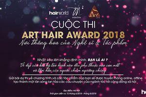 Phát động cuộc thi tạo mẫu tóc Hair Award 2018