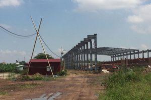 Hải Dương: Công ty Minh Du xây dựng nhà xưởng khi chưa được cấp phép