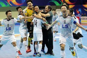 Tạo kỳ tích châu Á, đội futsal Thái Sơn Nam được thưởng lớn