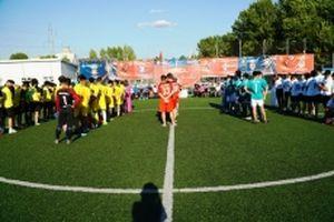 Khởi tranh Giải bóng đá cộng đồng người Việt tại LB Nga năm 2018