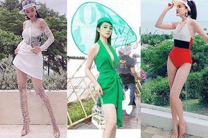Loạt sao Việt lăng xê nhiệt tình xu hướng phụ kiện nhựa trong suốt
