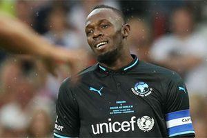 Huyền thoại điền kinh Usain Bolt quyết theo đuổi bóng đá