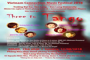 'Three to Tango' - Liên hoan Âm nhạc Vietnam quy tụ nhiều nghệ sĩ nổi tiếng