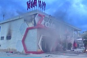 Cháy vũ trường Z Club bên bãi biển Nha Trang