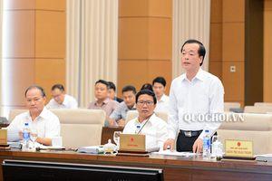 Ủy ban Thường vụ Quốc hội cho ý kiến về dự thảo Luật Kiến trúc