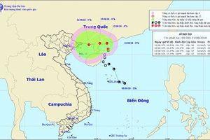 Áp thấp nhiệt đới có khả năng mạnh thêm và gây mưa lớn