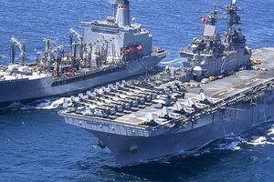 Hải quân Mỹ gấp rút tìm lính thủy đánh bộ bị nghi rơi xuống biển