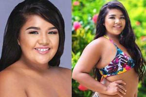 Thí sinh Hoa hậu Hoàn vũ Guam gây tranh cãi vì ngoại hình to béo
