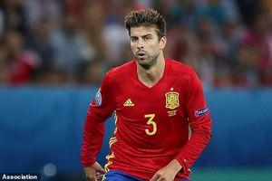 Gerard Pique xác nhận chia tay ĐT Tây Ban Nha
