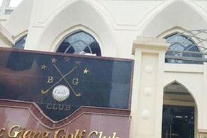 Bắc Giang báo cáo việc cho mượn đất công viên làm sân tập Golf