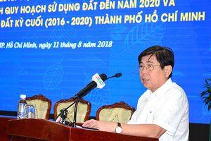 TP.HCM công bố điều chỉnh quy hoạch và kế hoạch sử dụng đất đến năm 2020