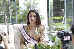 Hoa hậu Đại sứ Du lịch Phan Thị Mơ có đại gia 'chống lưng', mua giải?
