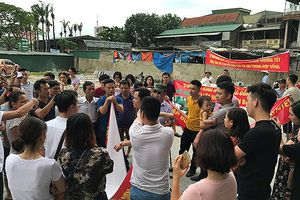 Dân chung cư Bảo Sơn phản đối chủ đầu tư vì vi phạm cam kết hợp đồng