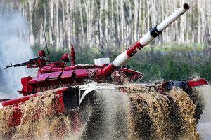 Nga vô địch giải đua tăng quốc tế Tank Biathlon 2018