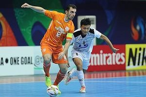 Thua Mes Sungun, Thái Sơn Nam lỡ hẹn chức vô địch CLB Futsal châu Á