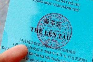 Chấm dứt tình trạng đưa người nhà lên tàu chạy thử tuyến đường sắt Cát Linh - Hà Đông