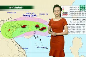 Dự báo thời tiết: Bão số 4 hình thành trên biển, đe dọa các tỉnh miền Bắc