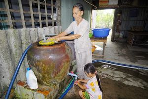 Nước sạch phường Thới An đảm bảo chất lượng